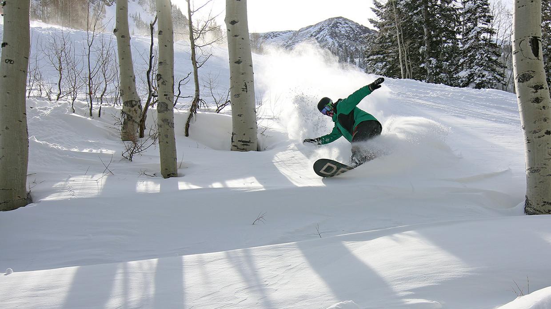 Blake Snowboarding Header